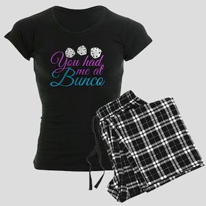 Cute Bunco Women's Dark Pajamas