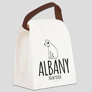 Albany Nipper Dog Canvas Lunch Bag