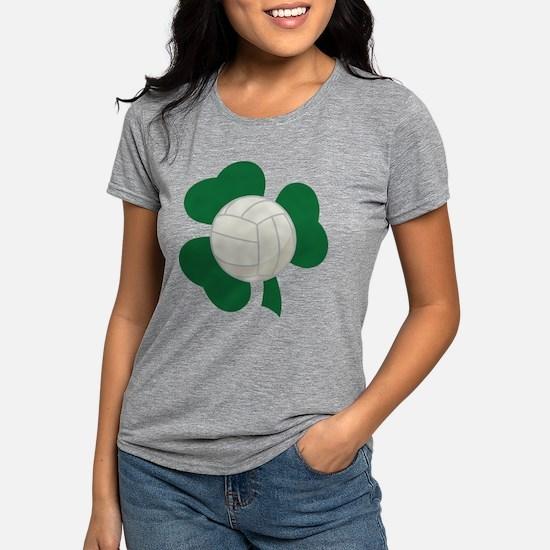 Irish Volleyball Shamrock T-Shirt