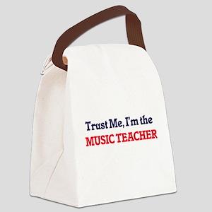 Trust me, I'm the Music Teacher Canvas Lunch Bag