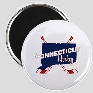 Connecticut Hockey Magnet