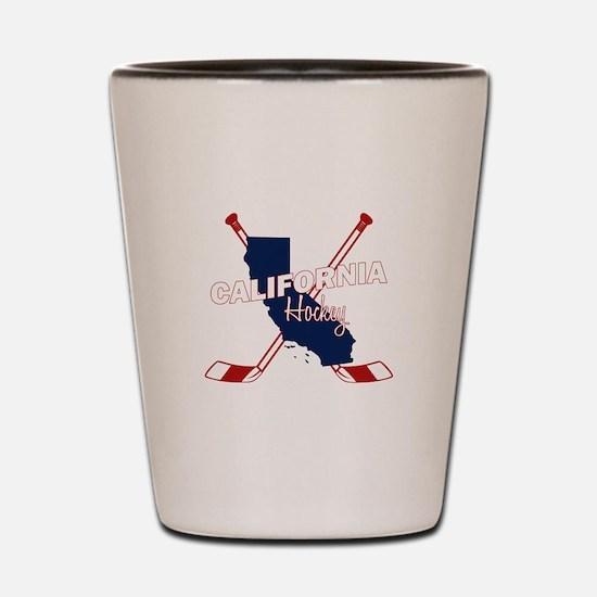 California Hockey Shot Glass