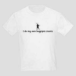 Bagpipes stunts Kids Light T-Shirt