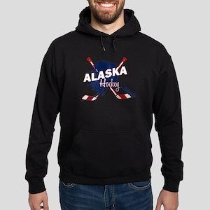 Alaska Hockey Hoodie (dark)