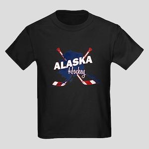 Alaska Hockey Kids Dark T-Shirt