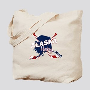 Alaska Hockey Tote Bag