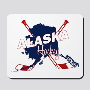 Alaska Hockey Mousepad