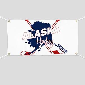 Alaska Hockey Banner