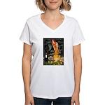 Midsummer / G Dane Women's V-Neck T-Shirt