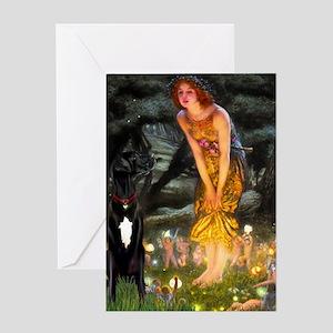 Midsummer / G Dane Greeting Card