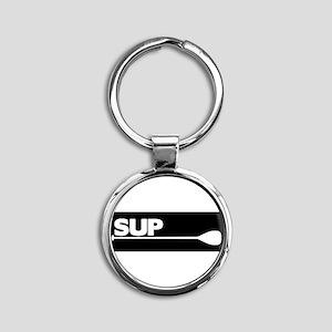 PSUP_blkBS Keychains