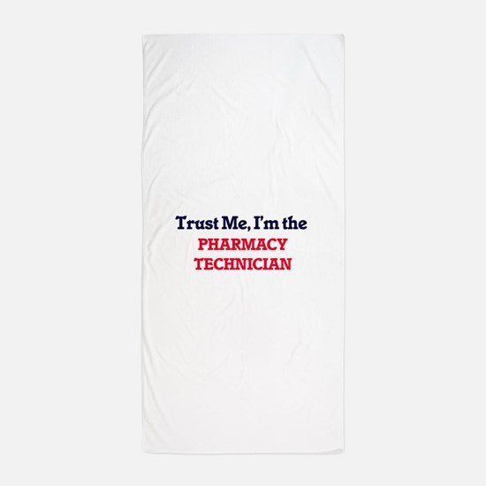 Trust me, I'm the Pharmacy Technician Beach Towel