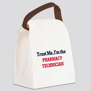 Trust me, I'm the Pharmacy Techni Canvas Lunch Bag