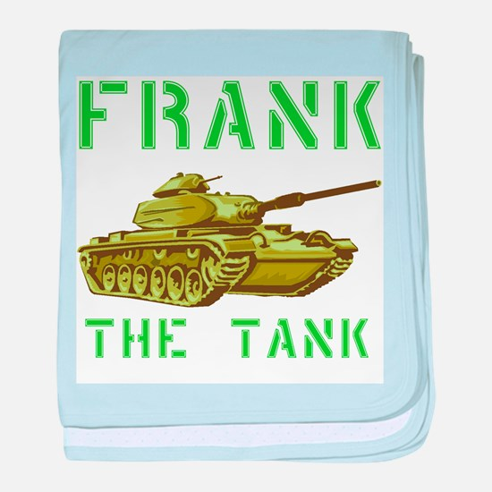 Frank the Tank baby blanket
