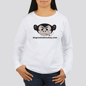Smoking Monkey Women's Long Sleeve T-Shirt