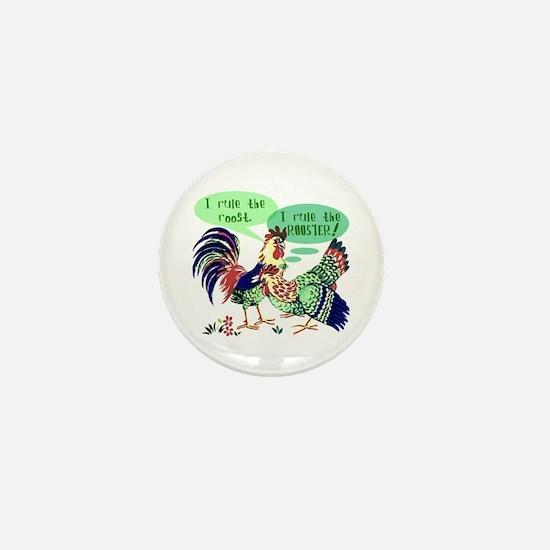 The Hen's House - Mini Button