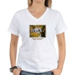 Burgess (Middle Falls) Women's V-Neck T-Shirt