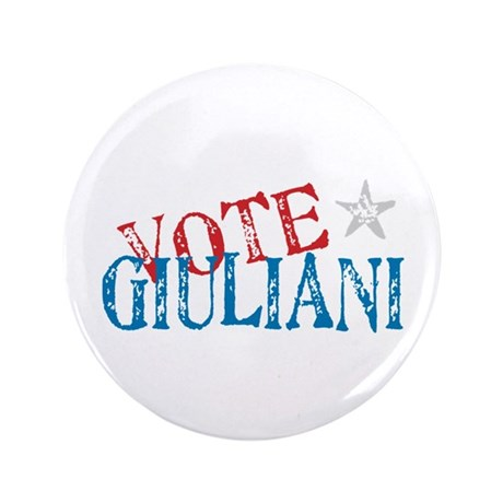 "Vote Giuliani President 2008 3.5"" Button"