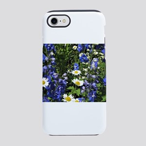 Delphiniums and Daisies iPhone 8/7 Tough Case