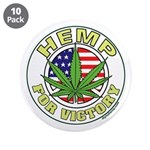 """Hemp for Victory 3.5"""" Button (10 pack)"""