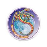 """Magic Moon Dragon 3.5"""" Button (100 pack)"""