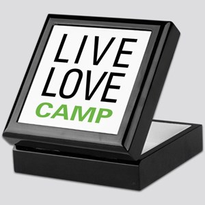 Live Love Camp Keepsake Box