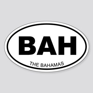 The Bahamas Oval Sticker