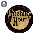 """Witching Hour 3.5"""" Button (10 pack)"""