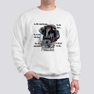Mastiff(fluffy)FAQ Sweatshirt