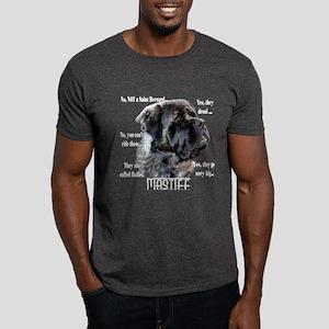 Mastiff(fluffy)FAQ Dark T-Shirt