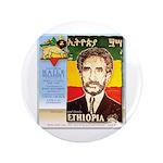 "Haile Selassie I 3.5"" Button (100 pack)"
