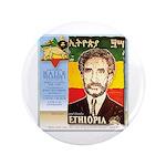 """Haile Selassie I 3.5"""" Button"""