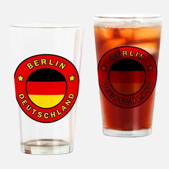 Funny Berliner Drinking Glass