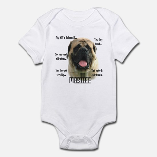 Mastiff(fawn)FAQ Infant Bodysuit
