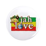 "Jah Love 3.5"" Button (100 pack)"
