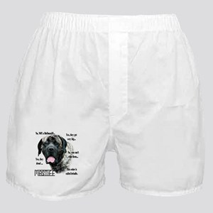 Mastiff(brindle)FAQ Boxer Shorts