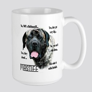 Mastiff(brindle)FAQ Large Mug