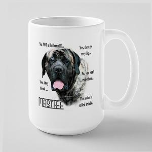Mastiff(brindle)FAQ Large Mug