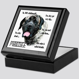Mastiff(brindle)FAQ Keepsake Box