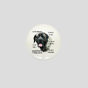 Mastiff(brindle)FAQ Mini Button