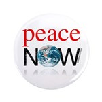 """Peace Now 3.5"""" Button (100 pack)"""