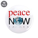 """Peace Now 3.5"""" Button (10 pack)"""