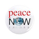"Peace Now 3.5"" Button"