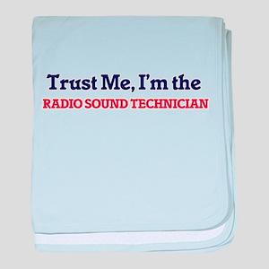 Trust me, I'm the Radio Sound Technic baby blanket