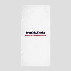 Trust me, I'm the Radio Sound Technici Beach Towel