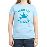 World Peace, Peace and Love. Women's Light T-Shirt
