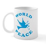World Peace, Peace and Love. Mug