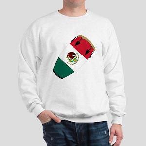 Conga Mexico Flag Band Sweatshirt