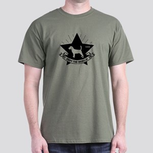Obey the Beagle! Revolution Mens Dark T-Shirt