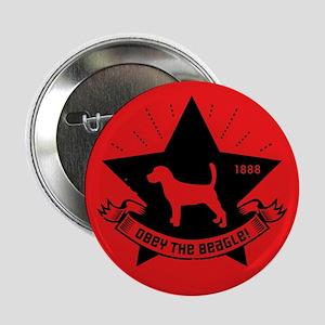 "Obey the Beagle! Revolution 2.25"" Button"